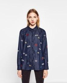 Camisa Ganga Zara 25,95€